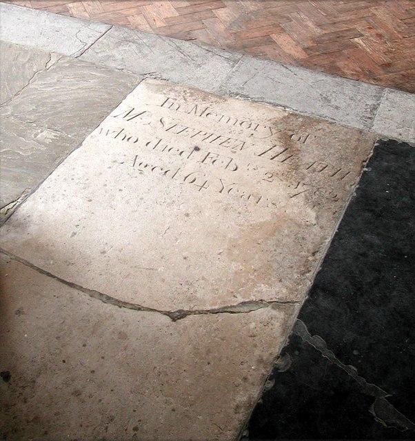 All Saints, Carshalton - Ledger slab