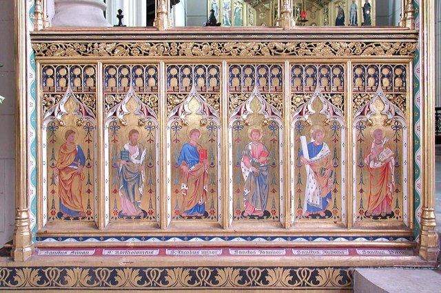 All Saints, Carshalton - Chancel screen