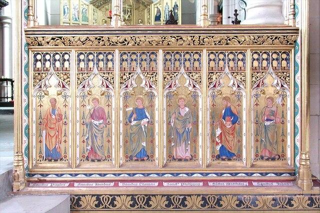 All Saints, Carshalton - Chancel screen
