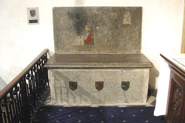 All Saints, Carshalton - Tomb chest