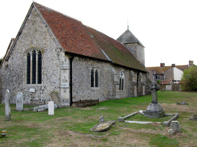 The north side of All Saints church, Iwade
