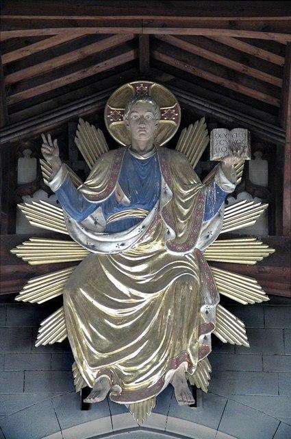 All Saints, Carshalton - Christ in Majesty