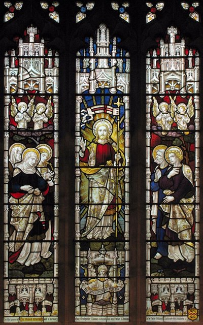 St Michael, Mickleham, Surrey - Window