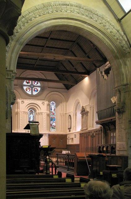 St Michael, Mickleham, Surrey - Chancel