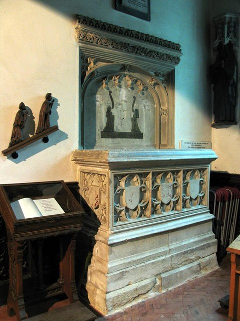 St Michael, Mickleham, Surrey - Tomb chest