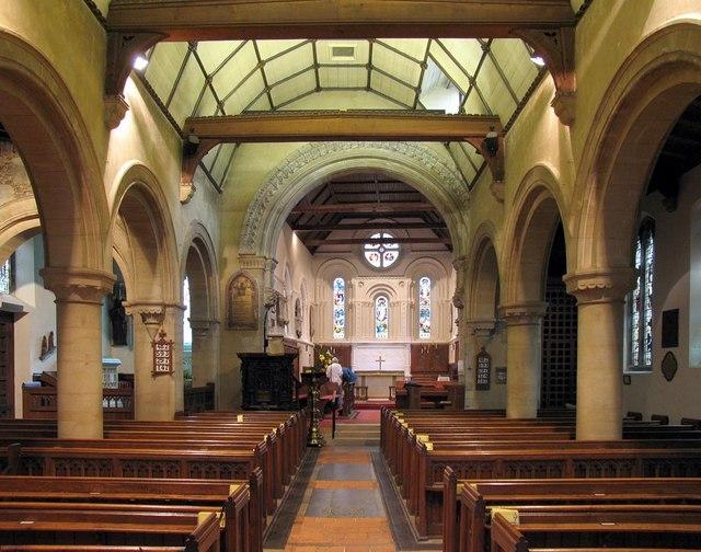 St Michael, Mickleham, Surrey - East end