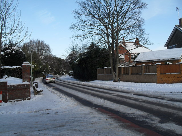 Looking from First Avenue into Southleigh Road