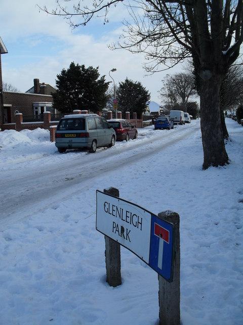 Glenleigh Park in the snow