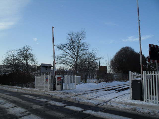 Barriers up in Southleigh Road