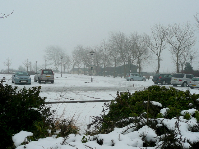 Evesham Garden Centre car park 2