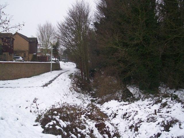 Footpath to Wildish Road