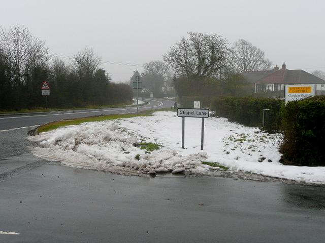 A40 at Chapel Lane, Birdwood
