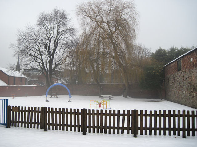 Children's play area in Cae Glas Park