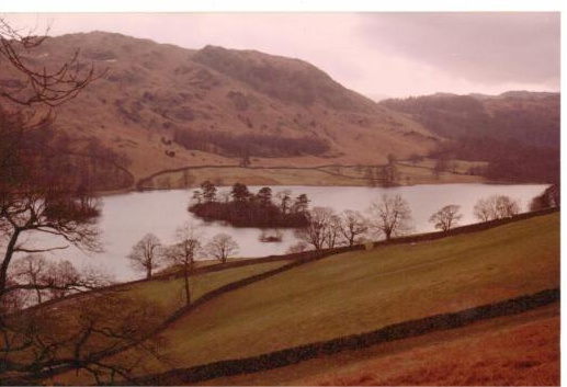 Rydal Water from the Corpse Road