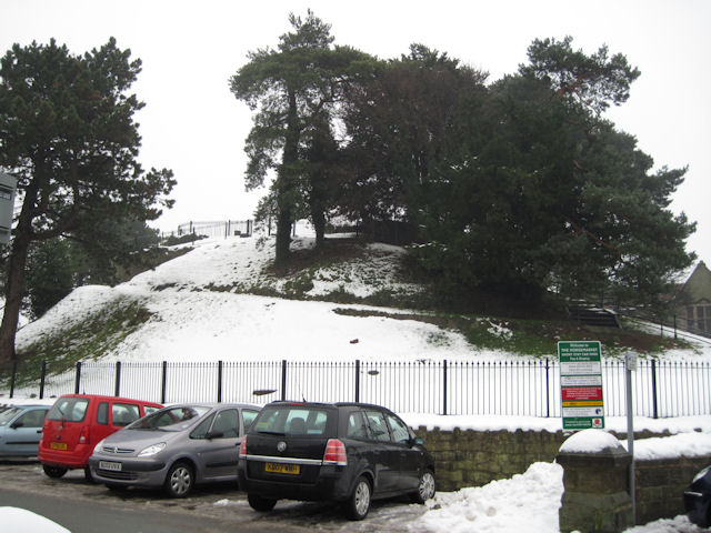 Oswestry Castle remains