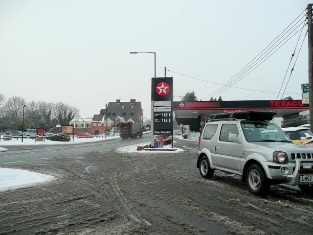 A441 at Hopwood