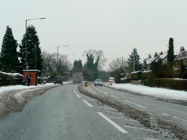 A441 south at Hopwood