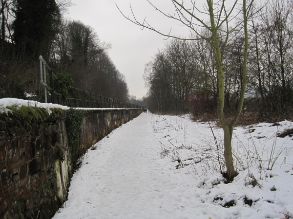 Path next to Railway Line