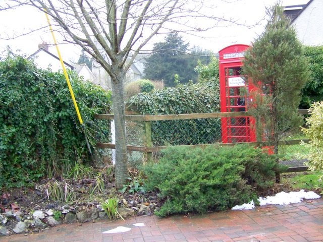 Telephone box, Coombe Bissett