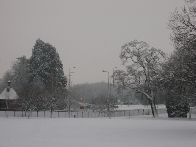 Corner of Tredegar Park