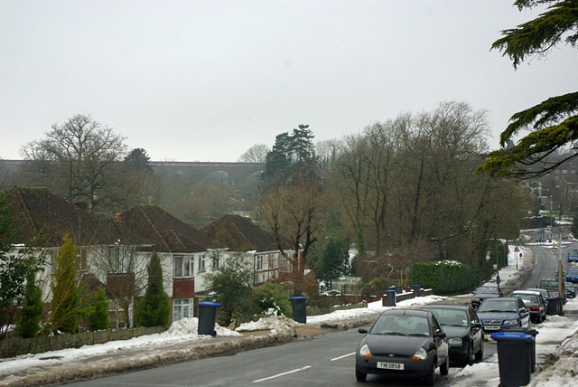 View from Hurst Farm Road