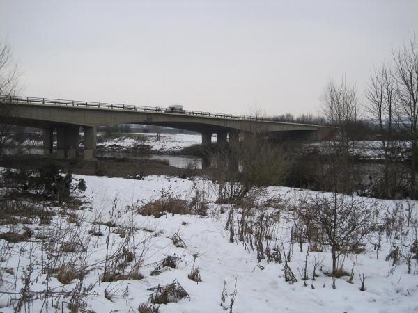 A69 Road Bridge over the River Tyne