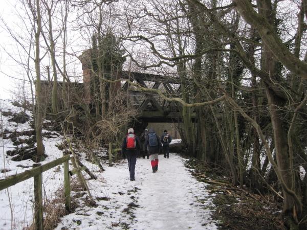 Footpath under Railway Bridge