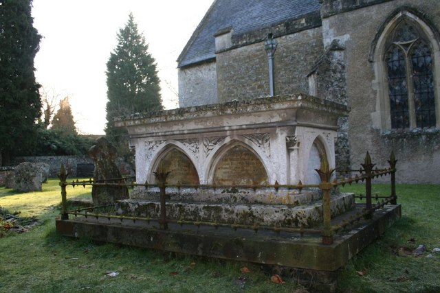 Tomb by the church