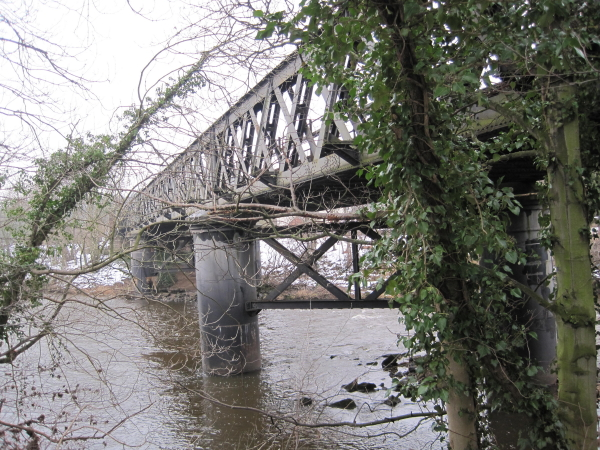 Railway Bridge over the River South Tyne