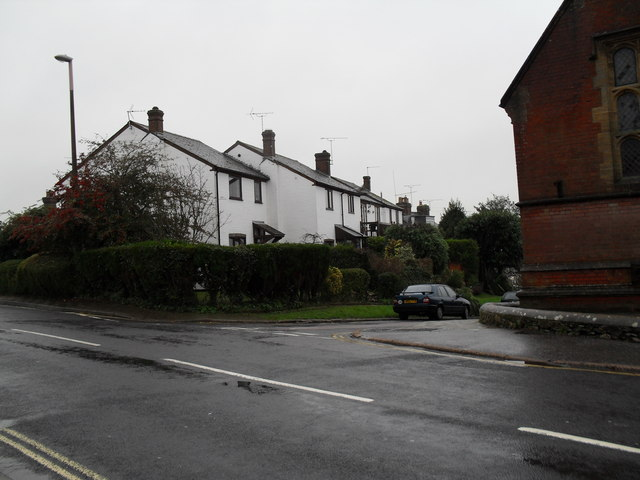 Looking from London Road into King Street