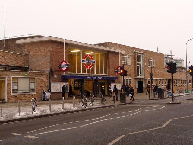 White City: the tube station