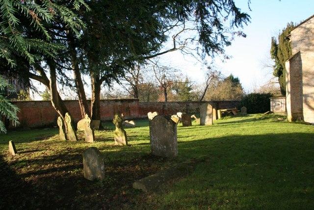 Graveyard by the church