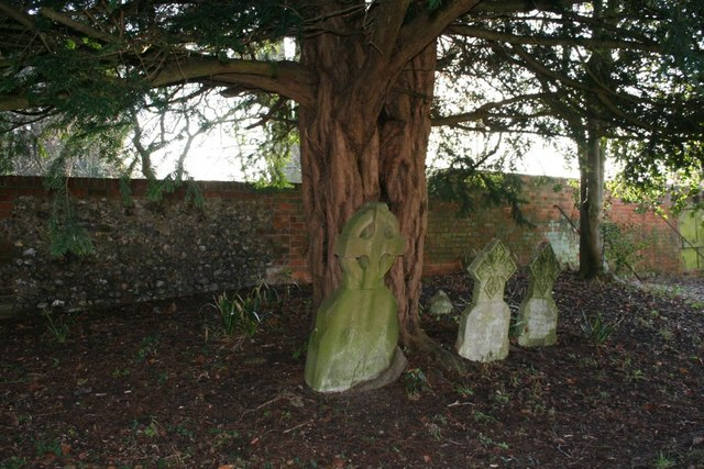Graves under the tree