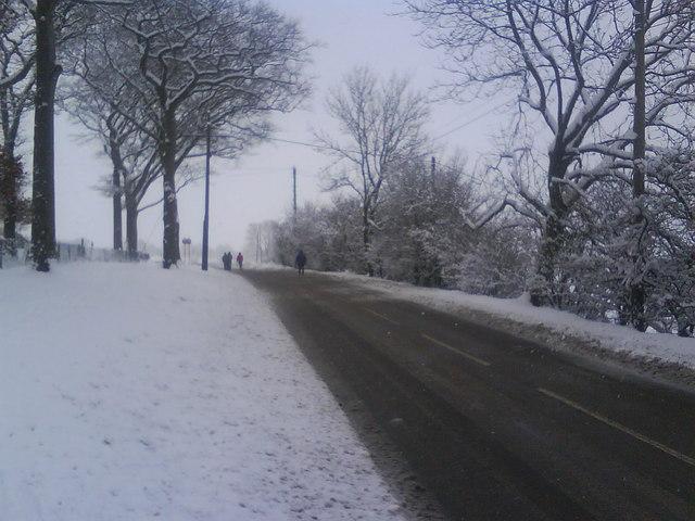 Woodhead Road, Glossop