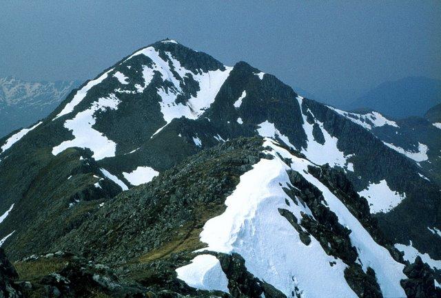 West from Sgurr nan Spainteach