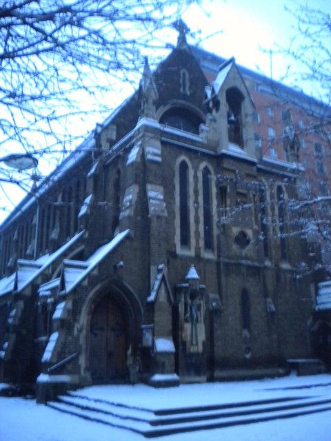Church of the Holy Cross, Cromer Street WC1