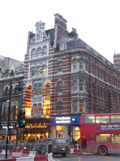 London: the Tottenham, Oxford Street