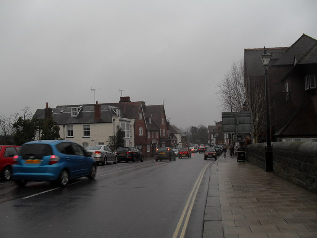 Queen Street on a very wet December afternoon
