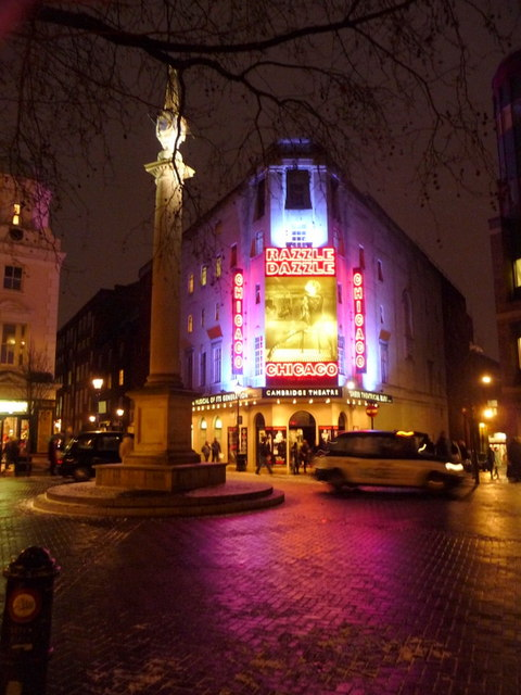 London: Seven Dials and the Cavendish Theatre