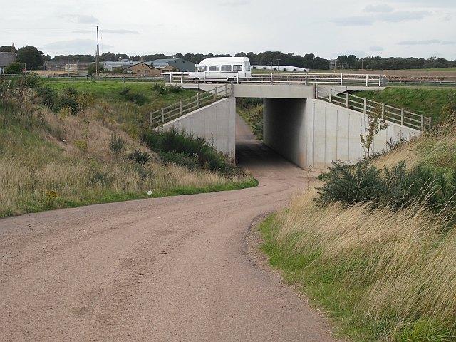 Underpass, Balcathie