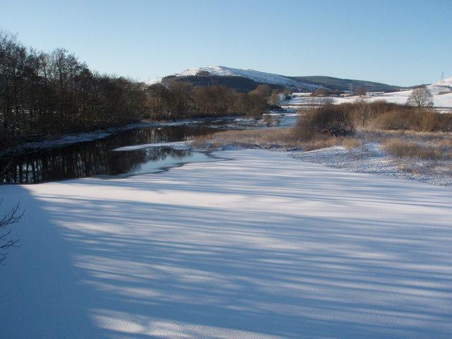 Frozen Water of Ken from the SUW Bridge.
