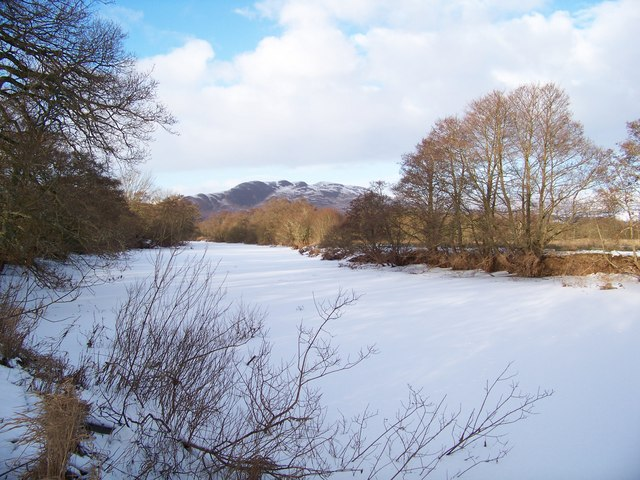 The Frozen Endrick Water