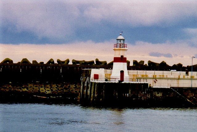 Douglas - Lighthouse across from end of Victoria Pier