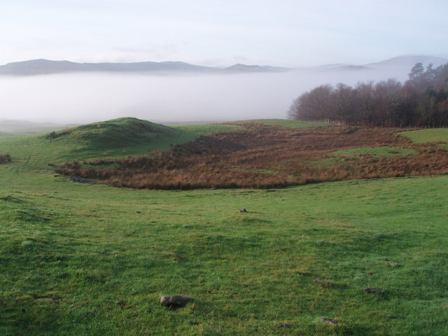Mist hangs heavy in the Ken Valley