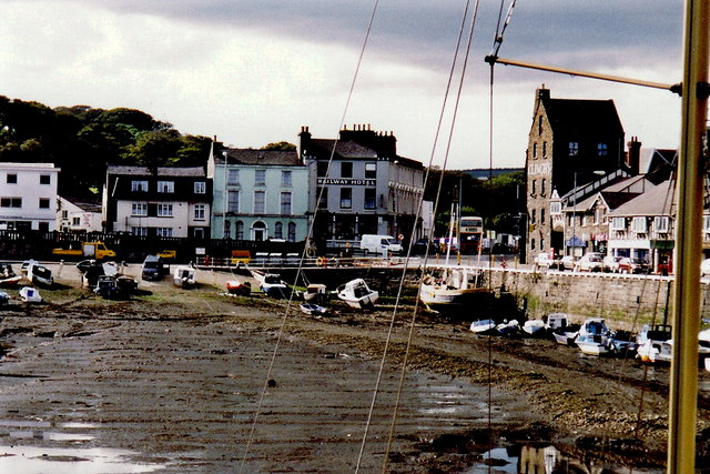 Douglas - West end of the quay at Bridge Street
