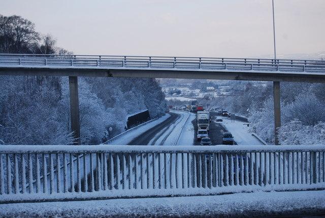 The A21 / A26 junction bridge