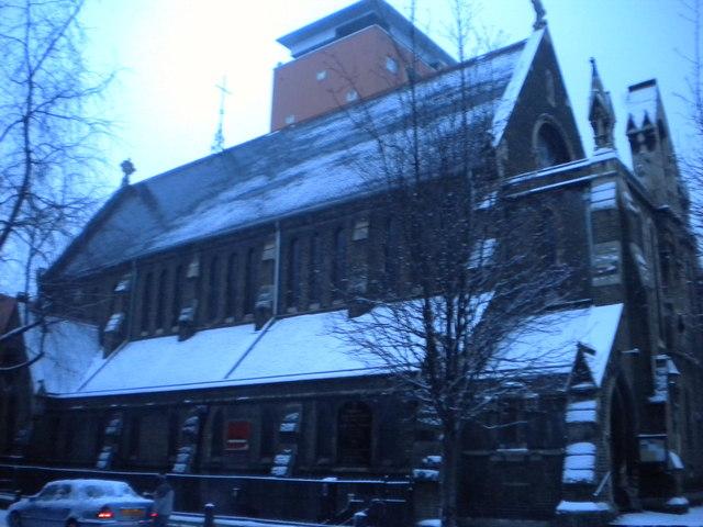 Holy Cross Church, Tonbridge Street WC1