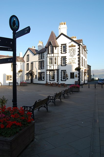 The White Lion Hotel, Beaumaris, Anglesey