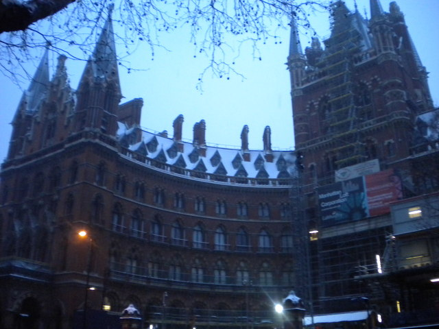 St Pancras Railway Station, Euston Road NW1