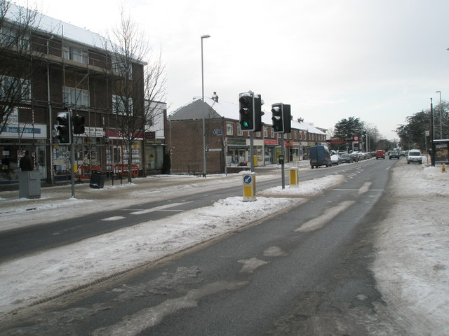 Drayton shops after January snow